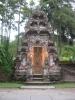 einer von zig-Schreinen, dieser steht im Wasser-Tempel, Pura Tirta Empul