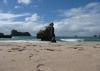 wieder ein wunderschöner, leerer Strand