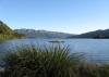 das ist der riesige See im Te Urewera-National Park