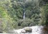 Hier liegen sich zwei Wasserfälle gegenüber! Das ist der Wasserfall vom vorigen Bild von oben!