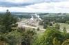 Geothermal-Kraftwerk von oben
