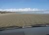 Mit dem Auto auf dem 90-Miles-Beach!