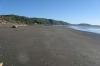 Sonntag nachmittag auf dem Paekakariki Beach