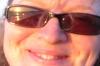 Eine Touristin deren Brille einiges verrät