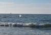 Da, wo die Wale schwimmen, kann man fast noch stehen!