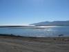 Der Lake Onoke fliesst malerisch in die Cook Strait