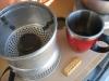 Am naechsten Tag - ausgiebiges Fruehstueck: Tee und Schottischen Butterkeks...