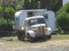 Wochenend-Haus und -Truck