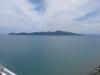 Kapiti island von oben