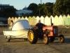 Hier macht ein Traktor andere Jobs...