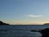 Marlborough Sounds von Titahi Bay aus gesehen