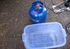 Mini-Gasflasche  - und gleich die passende Box gefunden